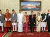 Prime Minister Narendra Modi with the leaders of the BIMSTEC nations. (File Photo)