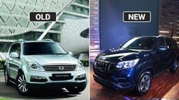 Mahindra Alturas G4 vs SsangYong Rexton: Old vs New