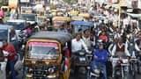 जाम में फंसा रहा शहर, सड़कों पर रही भीड़