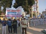 रैली निकाल स्वच्छता के प्रति किया जागरूक