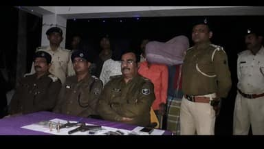 three and half lakh rupees robbed from cattle businessman in katihar