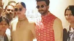 इटली में शादी करने के बाद मुंबई लौटे दीपिका-रणवीर, देखें PHOTO