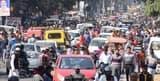 टीईटी परीक्षा के चलते जाम हो गई बिजनौर की सड़कें