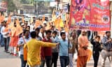 राम मंदिर निर्माण के लिए संघ परिवार ने निकाली जनआग्रह रैली