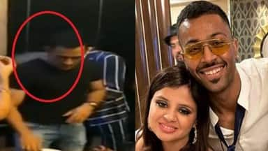 Sakshi Dhoni and Hardik Pandya