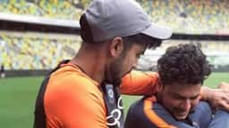 Manish Pandey and Kuldeep Yadav