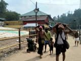 A sudden protest by devotees at the Sabarimala temple surprised the police as the heavy security dep