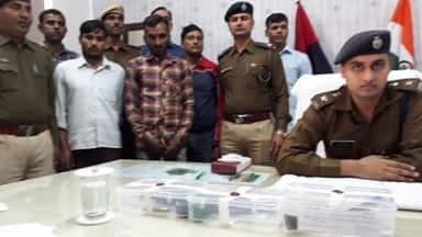 सात हत्या और 600 चोरियों को अंजाम देने वाला अंतरराज्यीय गिरोह गिरफ्तार