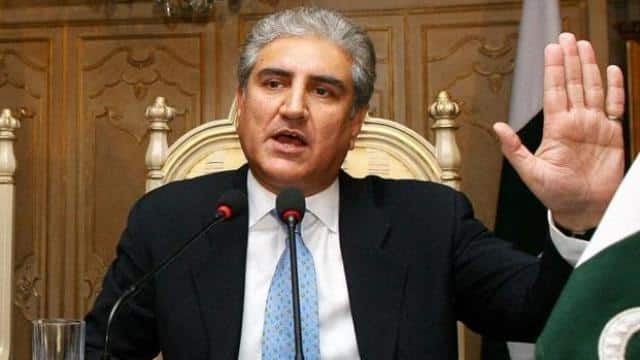 A file photo of Pakistan foreign minister Shah Mahmood Qureshi.