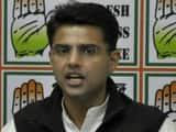 Rajasthan Pradesh Congress chief Sachin Pilot (File Pic)