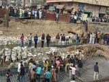a under construction bridge collapsed in Saharanpur