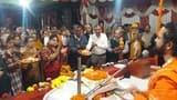 भगवान राम और केवट प्रसंग से श्रद्धालु हुए भावविभोर
