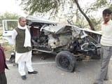 ट्रैक्टर-ट्रॉली की टक्कर से बोलेरो चालक की मौत