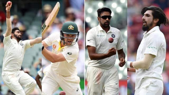 Jasprit Bumrah, Travis Head, R Ashwin, Ishant Sharma