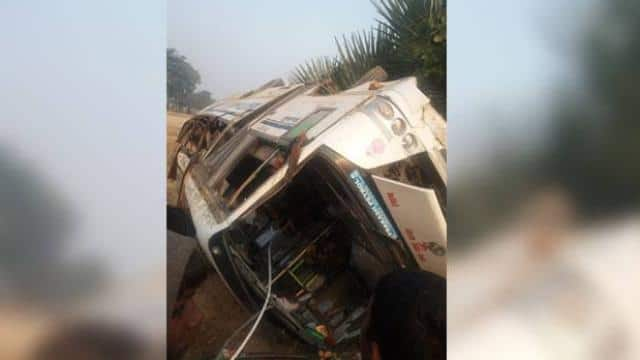Bus Accident in Gaya