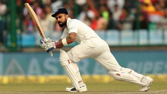 Indian Cricket Captain Virat Kohli