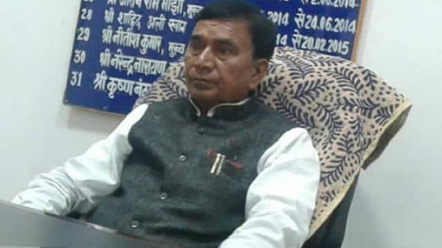 बिहार के शिक्षा मंत्री कृष्णनंदन प्रसाद वर्मा