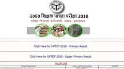 UP TET Upper Primary Result 2018