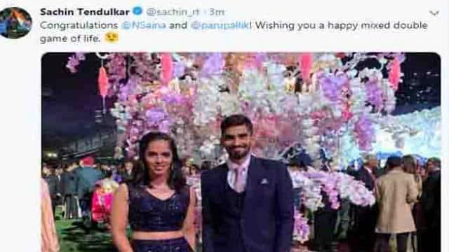 Screen Shot of Sachin Tendulkar's Tweet