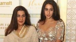 बेटी सारा की फिल्म 'केदारनाथ' देखकर रो पड़ीं मां अमृता सिंह, जानें क्यों