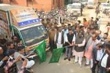 राज्यमंत्री ने स्वच्छता जागरूकता रथ को किया रवाना