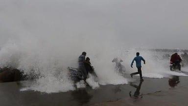 Heavy rains lash Andhra Pradesh as cyclone Phethai set to make landfall