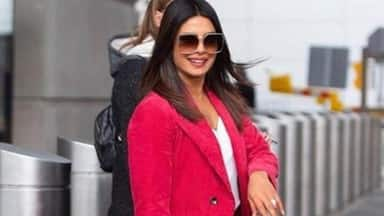 Priyanka Chopra looks gorgeous in red