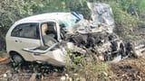 ट्रक की टक्कर से मासूम की मौत, तीन घायल