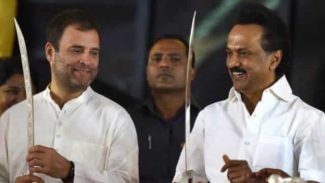 राहुल गांधी एमके स्टालिन(पीटीआई फोटो)