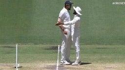 VIDEO: जब बीच मैदान पर एक दूसरे से भिड़े ईशांत शर्मा और रविंद्र जडेजा