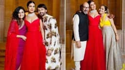 Priyanka Chopra, Priyanka Red Gown, Priyanka Wedding Party,