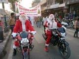 विकासनगर में क्रिसमस से पहले सद्भावना यात्रा निकाली