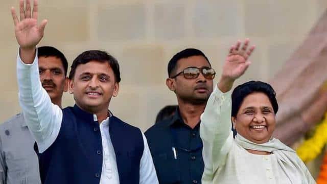 akhilesh yadav and mayawati photo-hindustan times