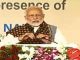 Prime Minister Narendra Modi addressing Gazipur rally