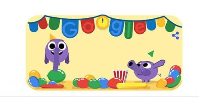 Google Doodle: गूगल ने खास डूडल बनाकर किया नए साल का स्वागत