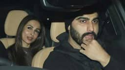 Malaika Arora Arjun Kapoor Spotted Hand In Hand At New Year Party See Photos