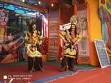 भेल्ट गांव की रामलीला में सीता हरण का दृश्य रहा शानदार