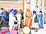 मुख्यमंत्री ने पटना साहिब में प्रकाशोत्सव की तैयारियों का जायजा लिया