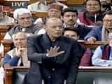 FM Arun Jaitley in Lok Sabha
