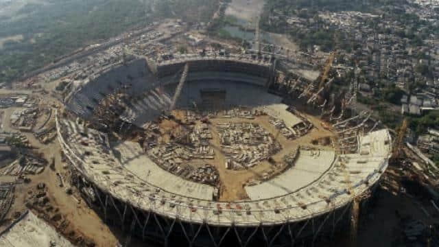 World's Largest Cricket Stadium is being constructed in Guajarat's Ahemdabad.jpg