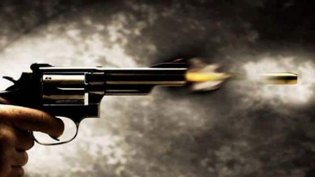 Gun shot to woman