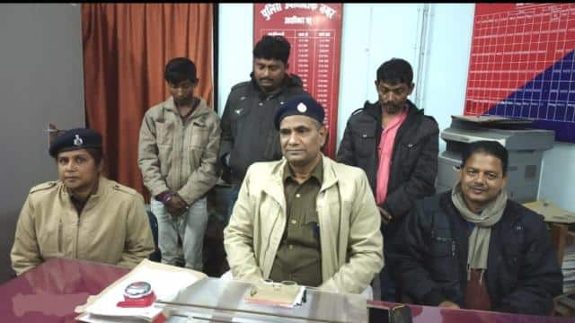 six arrested including three women after Sex racket business Busted in rental house at bhagalpur