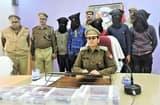 लूट, छिनैती करने वाला गैंग धरा, पांच गिरफ्तार
