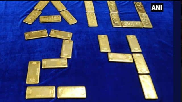 24 gold bars hidden in underwear