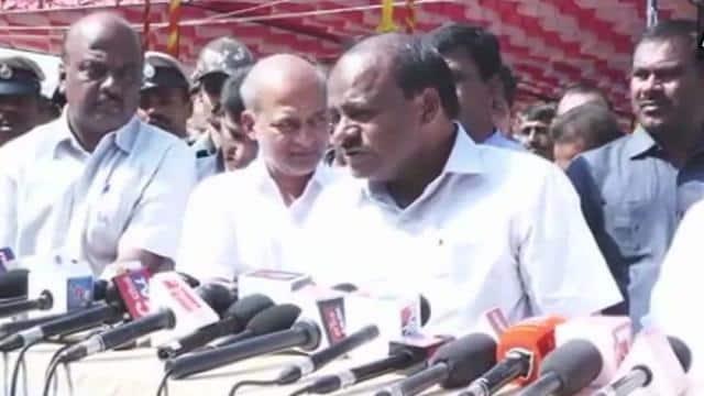 Karnataka CM HD Kumarswamy (ANI Twitter Pic)