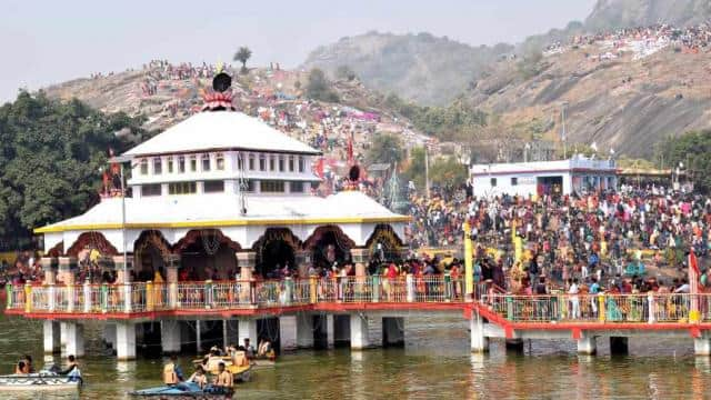 Mandar festival begins with Mangalacharan and shankhnad in banka