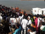 Six people died after a boat capsized in the Narmada river in Maharashtra's Nandurbar district, said