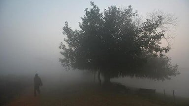 Cold winds and heavy fog in DELHI-NCR