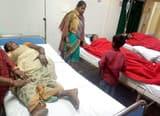 कंबल वितरण के दौरान भगदड़, 15 महिलाएं घायल