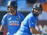 Rohit Sharma Shikhar Dhawan (AFP)